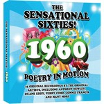 THE SENSATIONAL SIXTIES! 1960 - POETRY IN MOTION - VARIOUS ARTISTS (CD)...