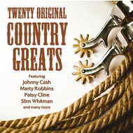 TWENTY ORIGINAL COUNTRY GREATS - VARIOUS ARTISTS (CD)...