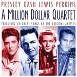 A MILLION DOLLAR QUARTET - PRESLEY CASH LEWIS PERKINS