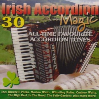 A DROP IN YOUR HAND - IRISH ACCORDION MAGIC (CD)