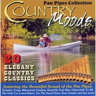 BARRY WOODS - COUNTRY MOODS PAN PIPES COLLECTION (CD)...