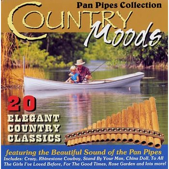 BARRY WOODS - COUNTRY MOODS PAN PIPES COLLECTION (CD)
