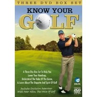 KNOW YOUR GOLF  3 DVD BOX SET
