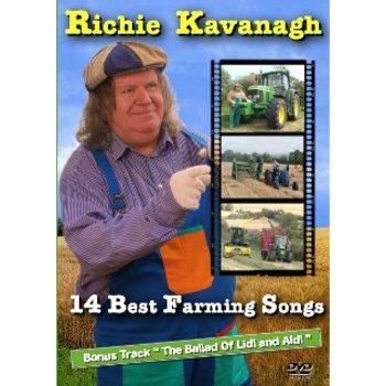 Richie Kavanagh 14 Best Farming Songs DVD - CDWorld ie