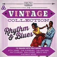 THE VINTAGE COLLECTION RHYTHM AND BLUES - VARIOUS ARTISTS (CD).