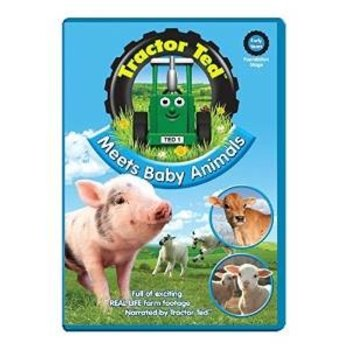 TRACTOR TED  - MEETS BABY ANIMALS (DVD)