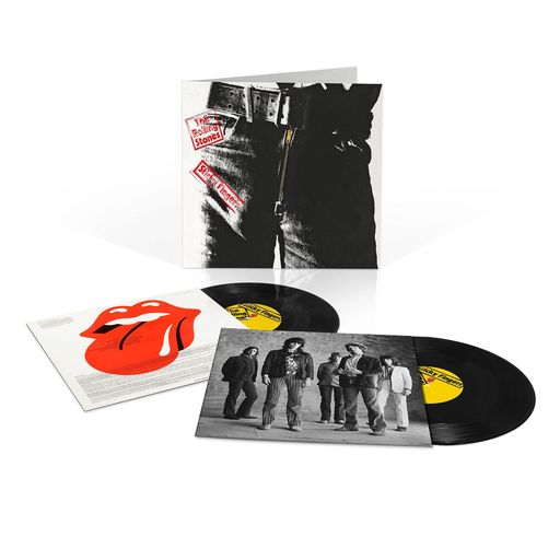 THE ROLLING STONES - STICKY FINGERS DELUXE (VINYL) - CDWorld ie