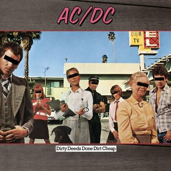 AC/DC - DIRTY DEEDS DONE CHEAP (CD)