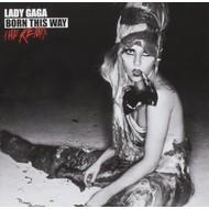 LADY GAGA - BORN THIS WAY THE REMIX (CD).