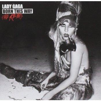 LADY GAGA - BORN THIS WAY THE REMIX (CD)