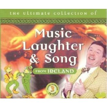 THE ULTIMATE COLLECTION OF MUSIC LAUGHTER AND SONG FROM IRELAND - VARIOUS ARTISTS (CD)