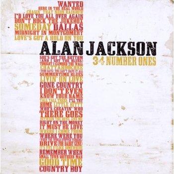 ALAN JACKSON - 34 NUMBER ONES (CD)