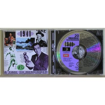 A TIME TO REMEMBER: 1941 - VARIOUS ARTISTS