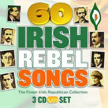 60 IRISH REBEL SONGS - IRISH REBEL ARTISTS (CD)
