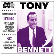 TONY BENNETT - DOUBLE CD & DVD COLLECTION.