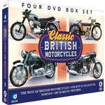 CLASSIC BRITISH MOTORCYCLES - 4 DVD SET