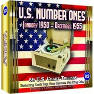 U.S. NUMBER ONES, JANUARY 1950 - DECEMBER 1955 - VARIOUS ARTISTS (3 CD SET).