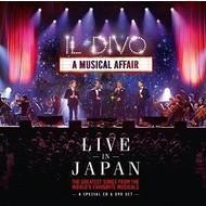 IL DIVO - A MUSICAL AFFAIR LIVE IN JAPAN (CD)