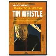 VINNIE KILDUFF - LEARN TO PLAY  THE TIN WHISTLE (DVD)
