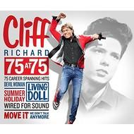 CLIFF RICHARD - 75 AT 75 (3 CD SET)