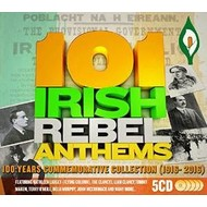 101 IRISH REBEL ANTHEMS VARIOUS (5 CD'S)