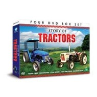 STORY OF TRACTORS  (4 DVD BOX SET)