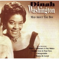 DINAH WASHINGTON - MAD ABOUT THE BOY