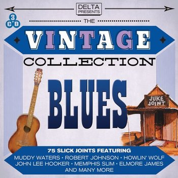 VINTAGE BLUES COLLECTION - VARIOUS ARTISTS  (CD)