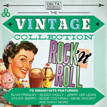 VINTAGE COLLECTION ROCK 'N' ROLL  - VARIOUS ARTISTS (3 CD SET)
