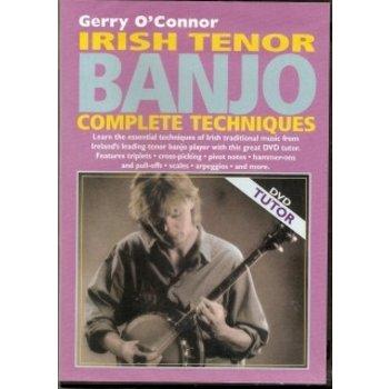Gerry O'Connor Irish Tenor Banjo Complete Techniques DVD - CDWorld ie