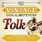 THE VINTAGE COLLECTION FOLK  - VARIOUS ARTISTS (CD)...