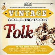 THE VINTAGE COLLECTION FOLK  - VARIOUS ARTISTS (CD).