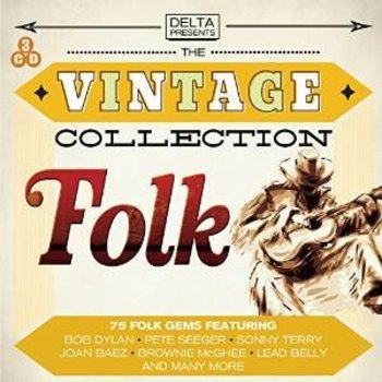THE VINTAGE COLLECTION FOLK - VARIOUS ARTISTS (CD)