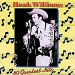 HANK WILLIAMS - 40 GREATEST HITS (CD).  )