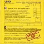 UB40  - SIGNING OFF (CD).
