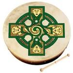 IRISH BODHRAN - 8'' GALLAN CROSS BODHRAN