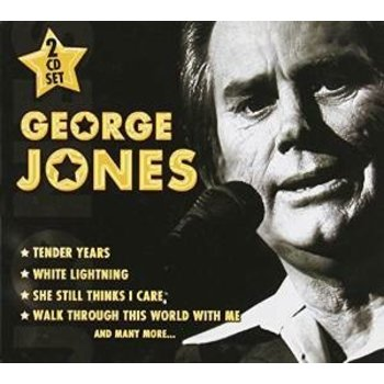 Proper Music,  GEORGE JONES - COUNTRY LEGEND / TOP 10 COUNTRY HITS  (2 CD SET)