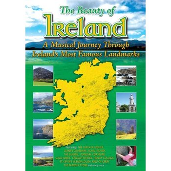 THE BEAUTY OF IRELAND  - A MUSICAL JOURNEY THROUGH IRELAND'S MOST FAMOUS LANDMARKS (DVD)