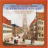 WOLFGANG AMADEUAS MOZART - KLAVIERKONZERTE K271-K453 (CD)...