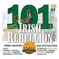 101 Songs Of Irish Rebellion - Various Artists (5 CD Set)...