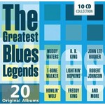 THE GREATEST BLUES LEGENDS - 20 ORIGINAL ALBUMS