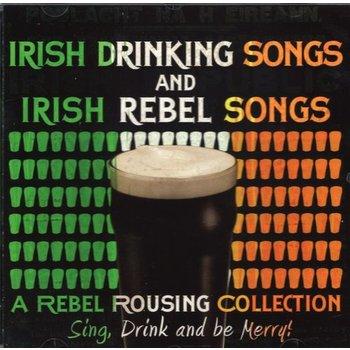 IRISH DRINKING SONGS & IRISH REBEL SONGS - VARIOUS ARTISTS (CD)