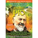 PADRE PIO - THE LIFE AND MESSAGE OF OUR BELOVED SAINT (DVD & CD Set)...