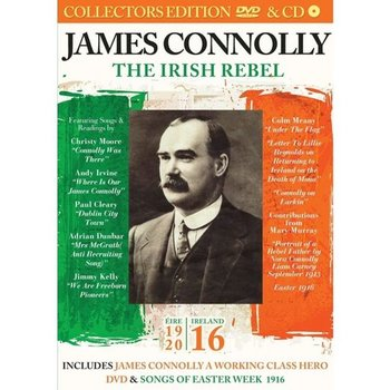 JAMES CONNOLLY THE IRISH REBEL (DVD & CD)