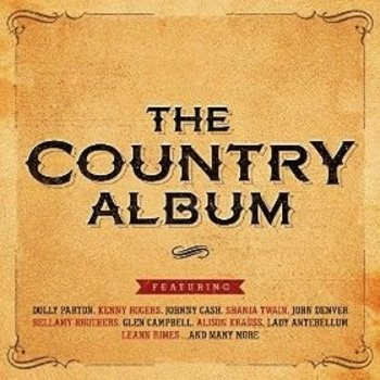 THE COUNTRY ALBUM - VARIOUS ARTISTS (2 CD Set)