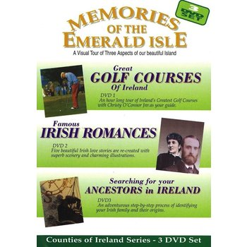 MEMORIES OF THE EMERALD ISLE (3 DVD Set)