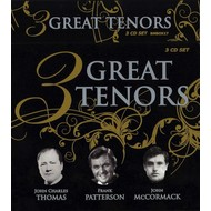 3 GREAT TENORS - JOHN CHARLES THOMAS, FRANK PATTERSON, JOHN MCCORMACK (CD)...