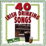 BRIAN ROEBUCK - 40 IRISH DRINKING SONGS (2 CD SET)