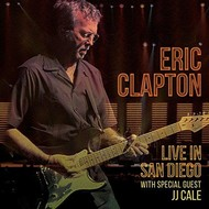 ERIC CLAPTON - LIVE IN SAN DIEGO with special guest JJ CALE (2 CD Set)