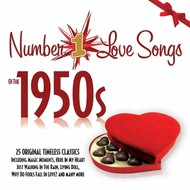 Various Artists - Number 1 Love Songs of the 1950s (CD)...